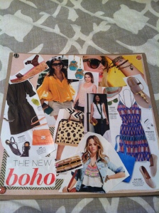 I made Brit this Boho Chic Outfit-Board for days when she's feeling uninspired!